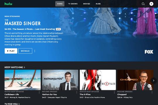 Hulu - Kostenlose Vorlage