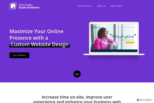 Le studio de conception de sites web