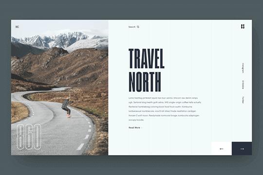 Travel North