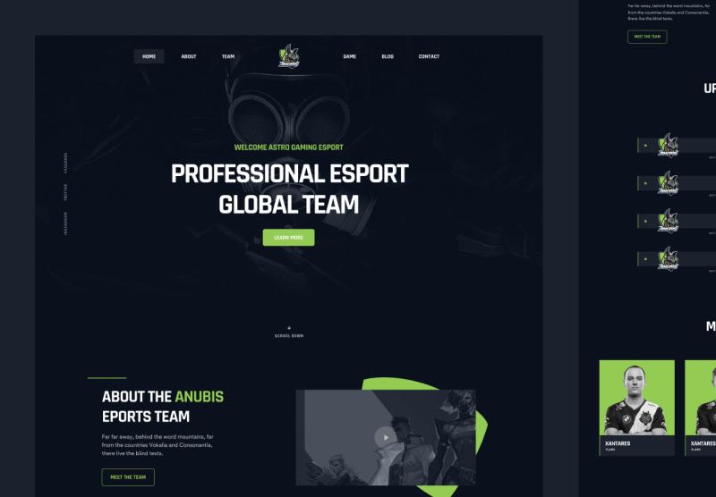 Anubis - eSports & Gaming