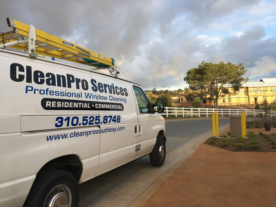CleanPro Services Van