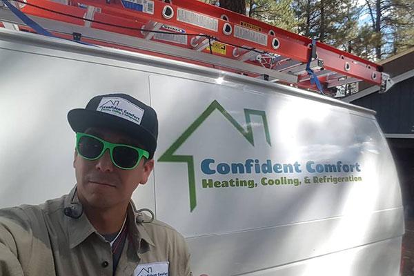 aaron owner of confident comfort