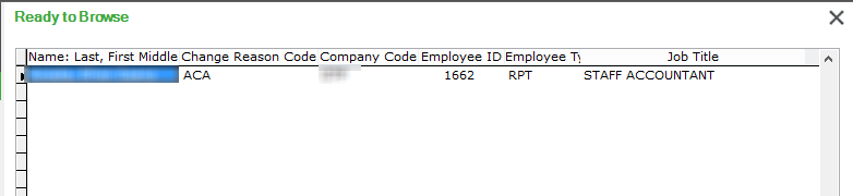 employee lookup return