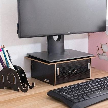 monitor stand box diy