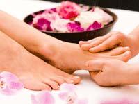 Fuss-Massage