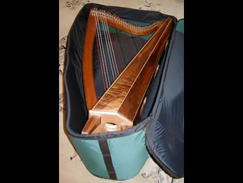 Harp 2 - Harp Soft Case Open