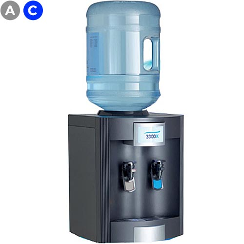 AA3300X Table Top Bottled Water Cooler