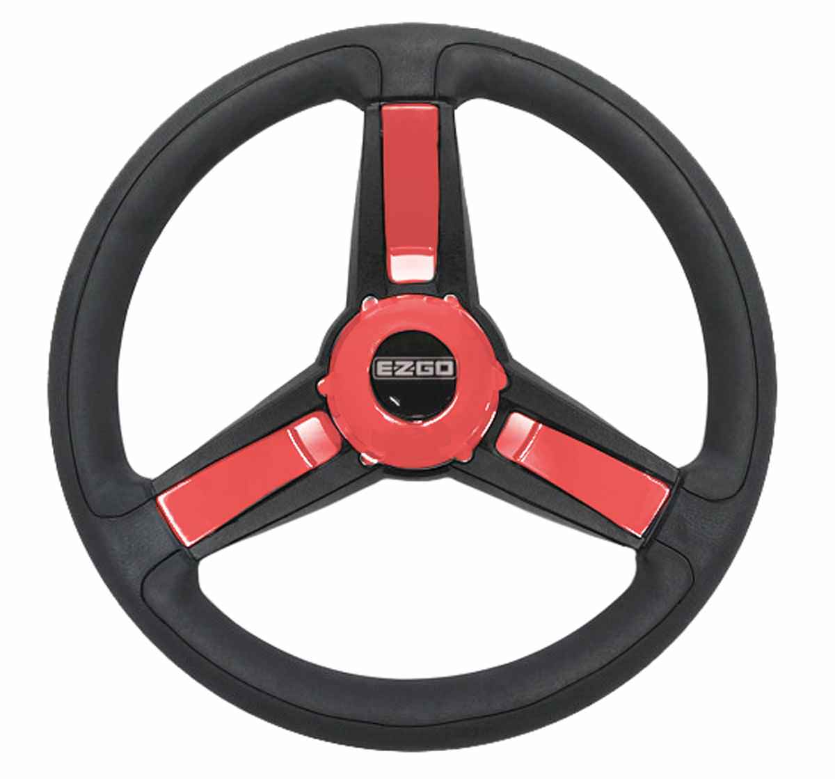Giazza Red Steering Wheel For EZGO Golf Carts