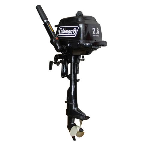 F2.6 BMS - Short Shaft, Manual Start Outboard Motor