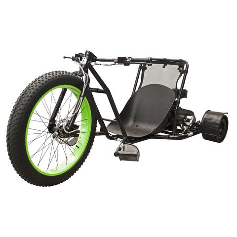 Your childhood big wheel with a few upgrades. Now skim across asphalt like its water on the Coleman Drift Trike.
