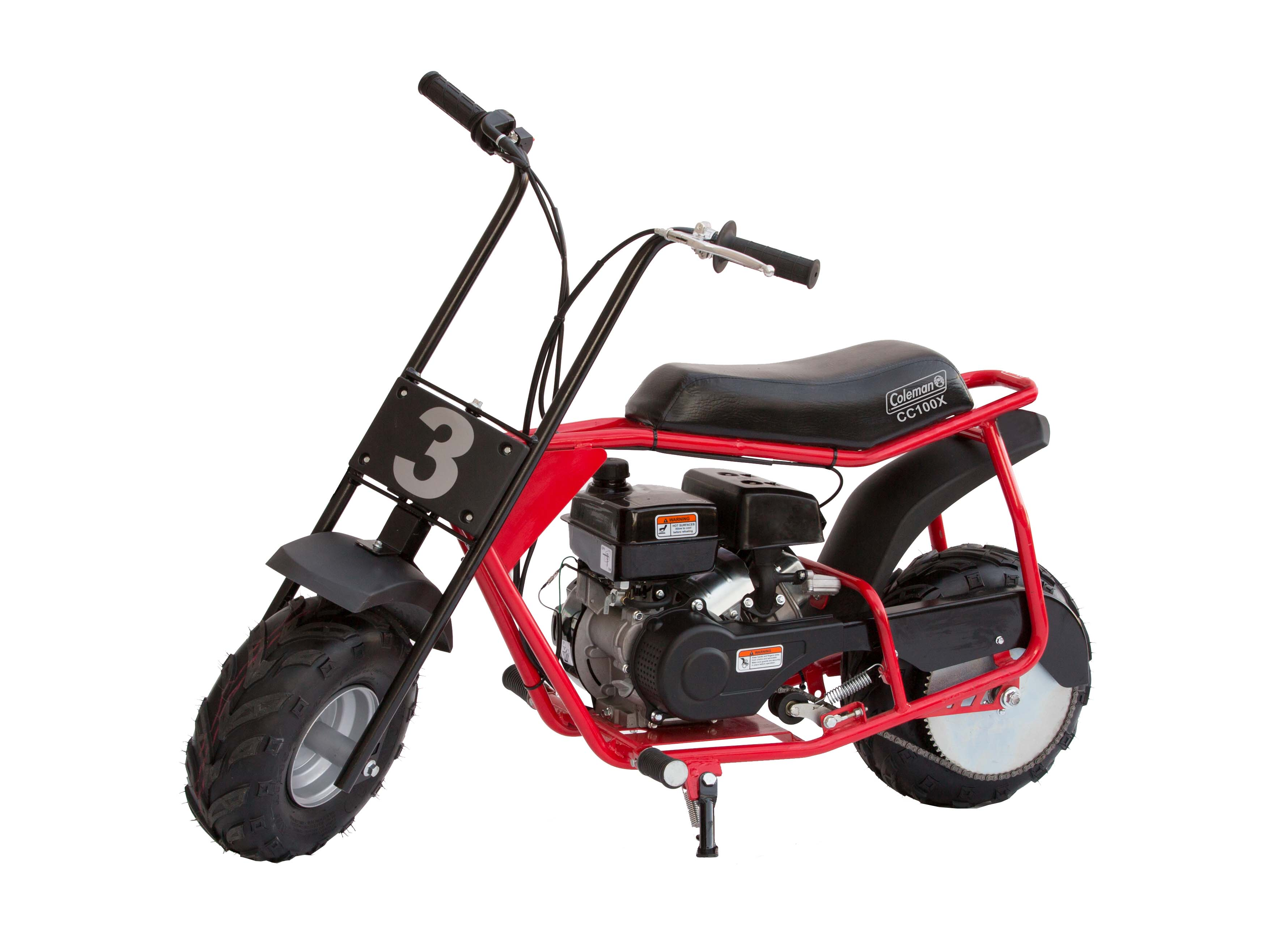 A new and improved mini bike for the little guys. We kept the same, trusted CT100U engine, but modified the frame for superior comfort and increased affordability.