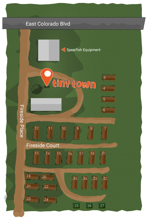 Tiny Town Map - mobile