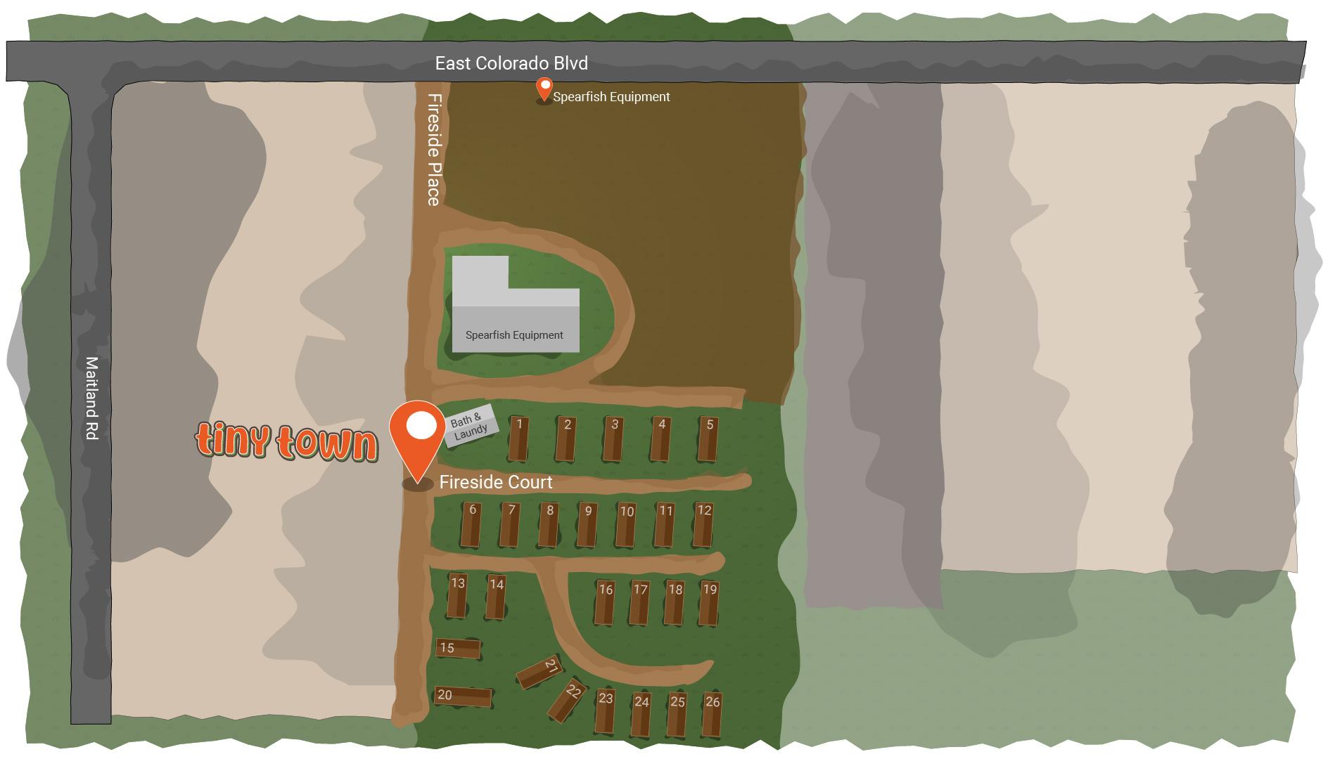 Tiny Town Map