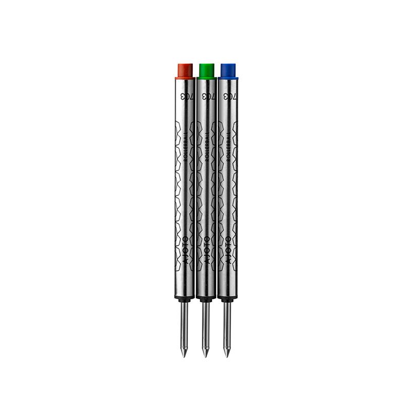 3 Pack rollerball refills (RGB)