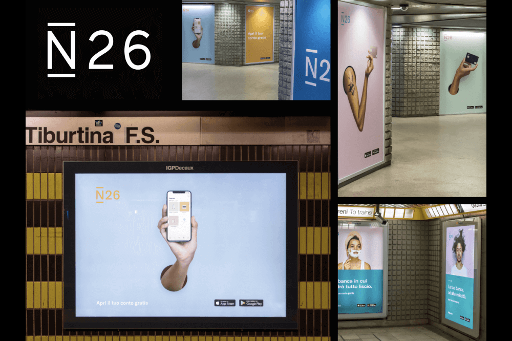 N26 Activation Campaign Photo Shoot