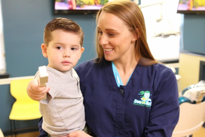 child's first visit