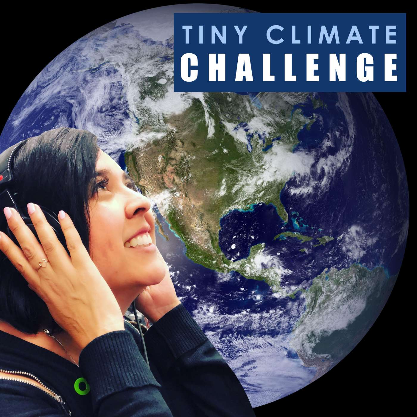 Tiny Climate Challenge is a podcast dedicated to helping busy people save the planet by completing one simple eco-challenge at a time.