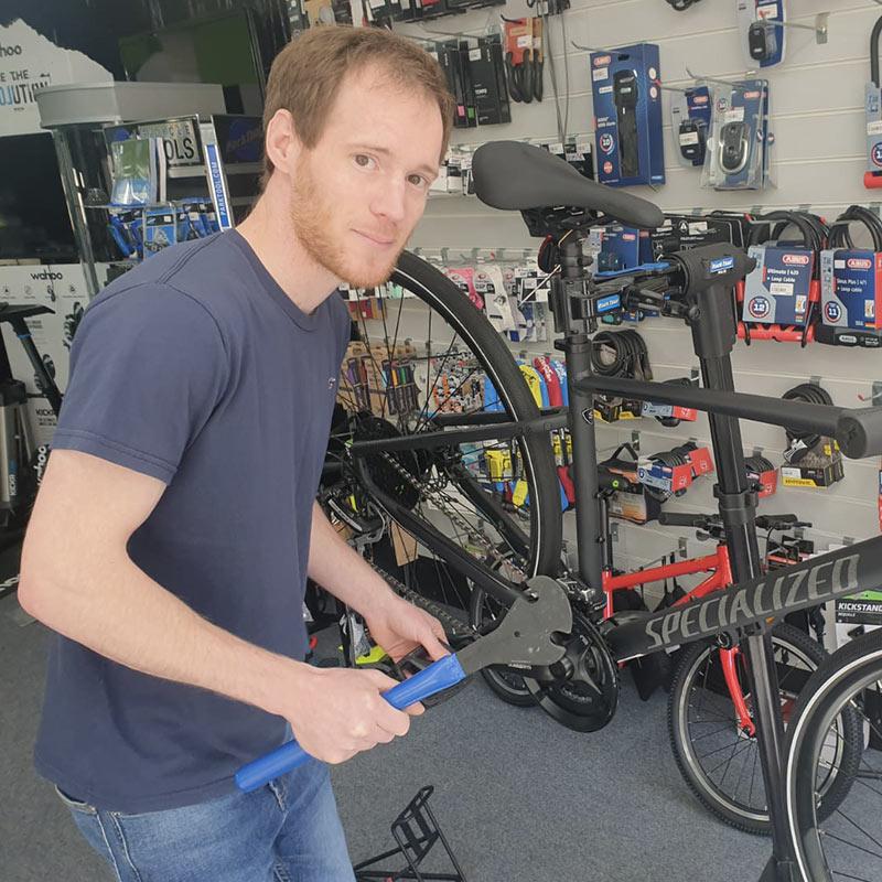 Bike shop Kent Marlon pic