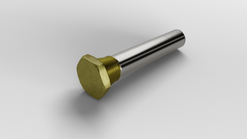 PENCIL ROD ANODE