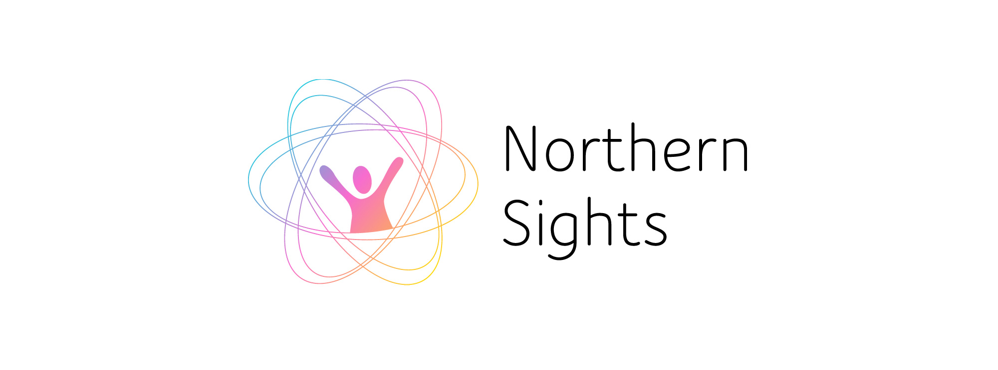 Logo designed for Northern Sights in Yellowknife, NT.