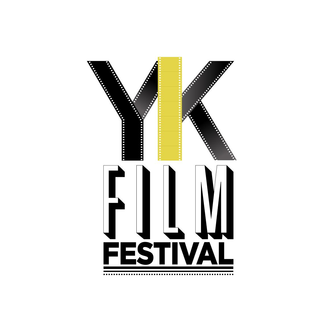 Sample image of logo design for the Yellowknife Film Festival.