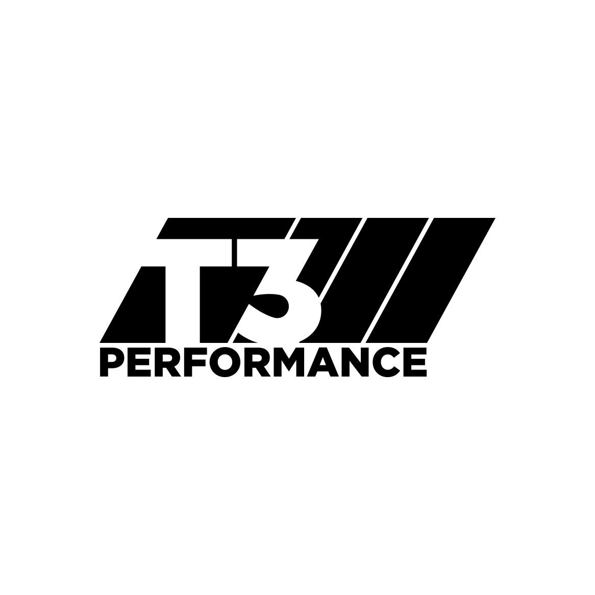 Sample image of logo design for T3 Performance.
