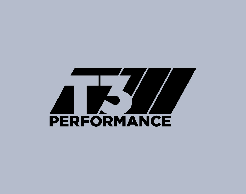 Sample image of logo design for T3 Performance.