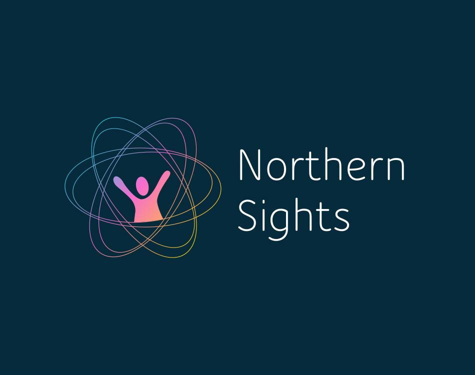 Sample image of logo design for Northern Sights.