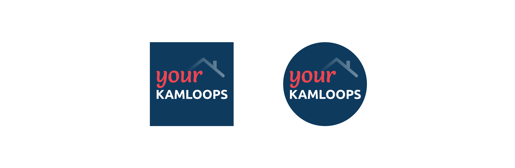 Sample image of social media icon design for Your Kamloops.