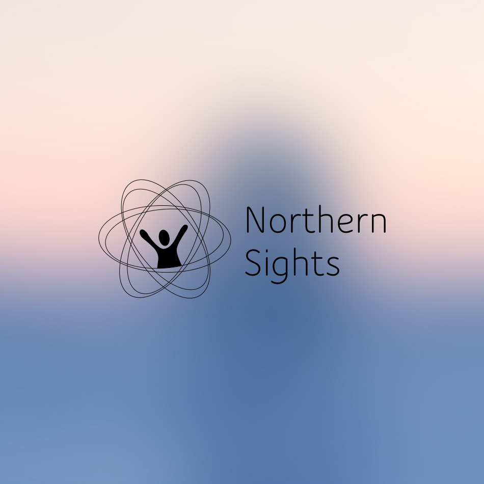 Sample image of logo design for Northern Sights.