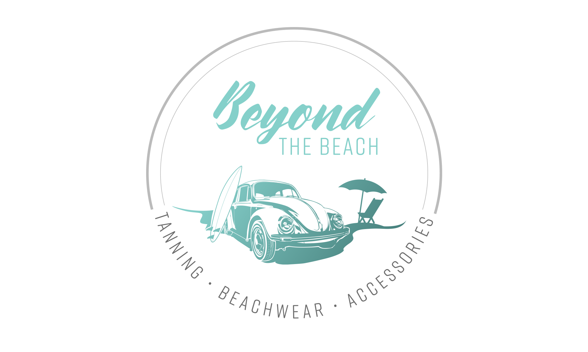 Sample image of logo design for Beyond the Beach.
