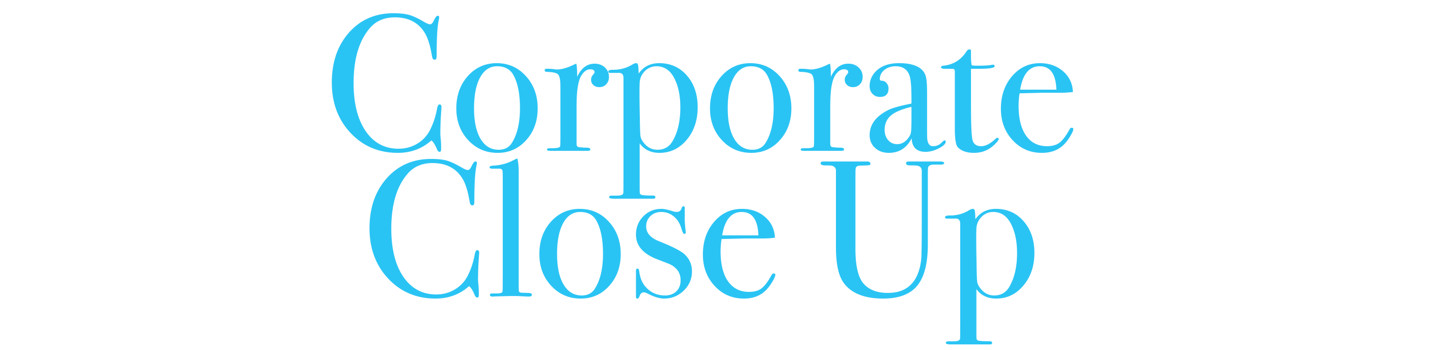 Corporate Close Up