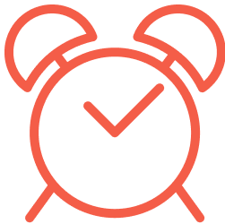 Simple time tracking icon 1