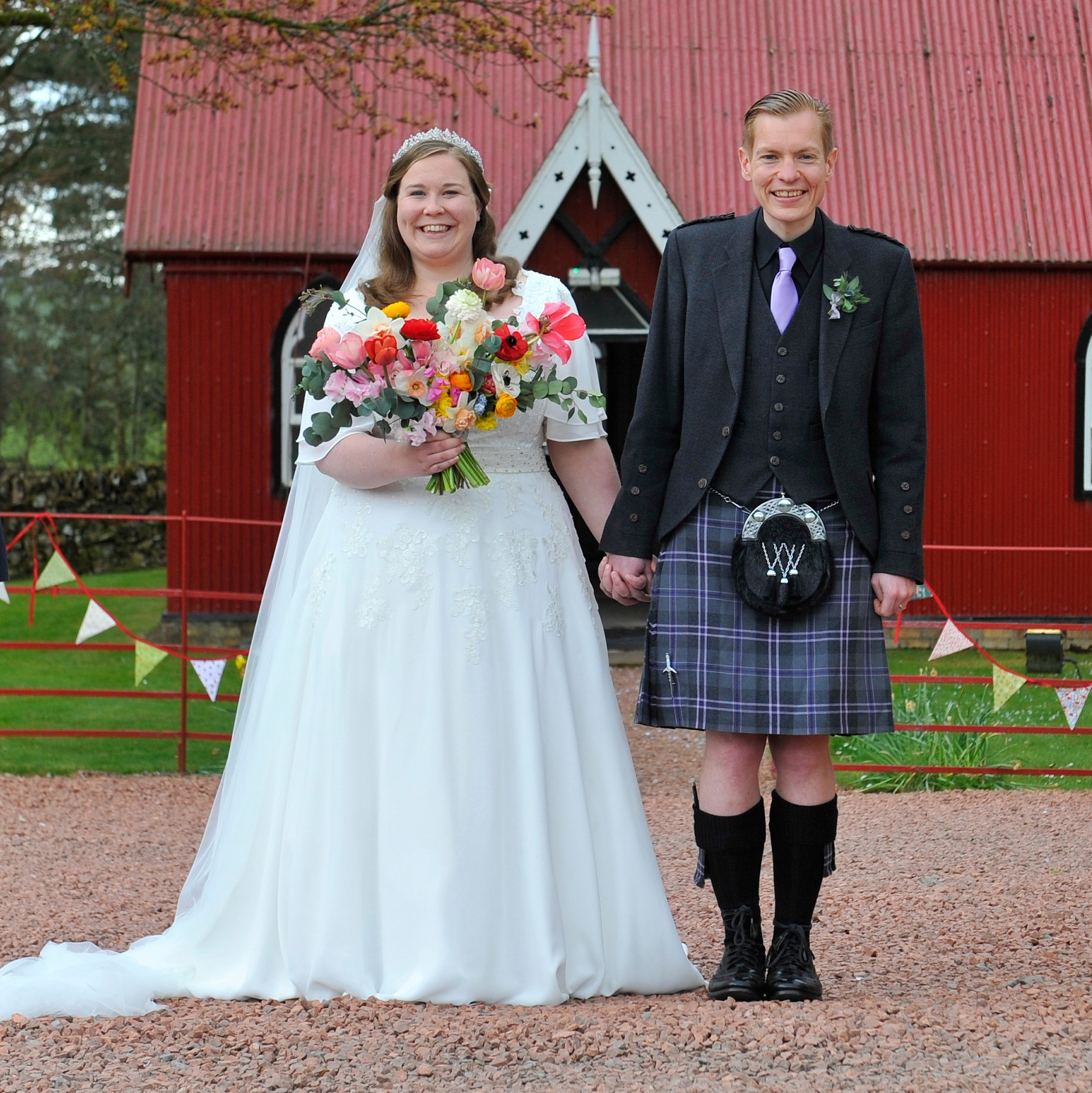 Suanne Christyne Bridal Real Bride