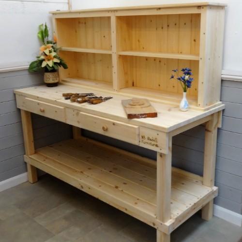 Workbench with Storage