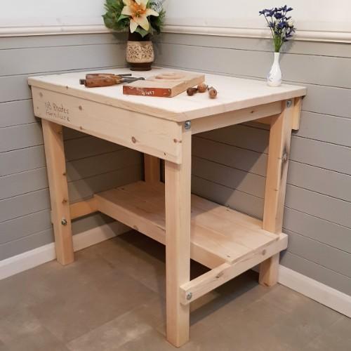 Workbench with Shelf