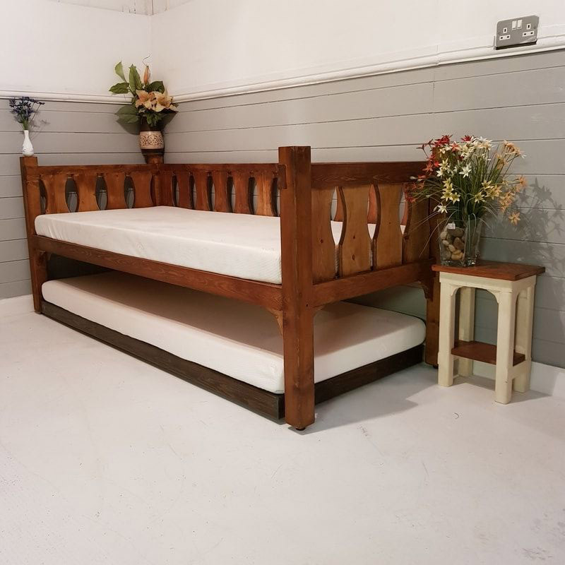 Wooden Daybed Sofa Bed
