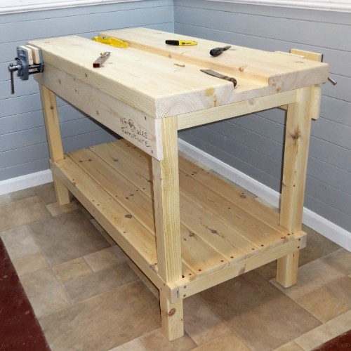 Bespoke Wooden Workbench