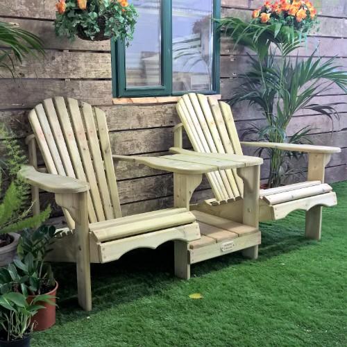 Tete-a-Tete Adirondack Chairs