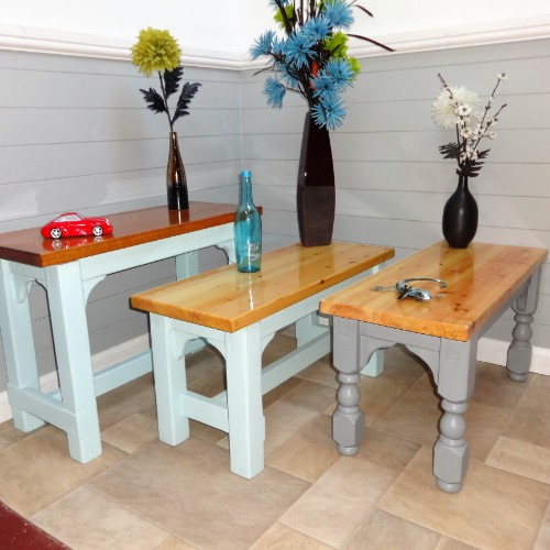 Bespoke Farmhouse Benches