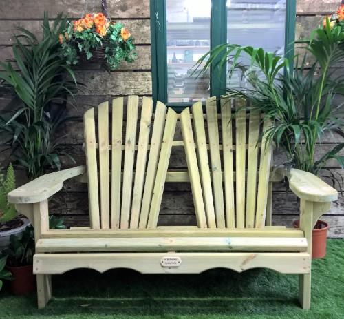 XL Loveseat Adirondack Chairs