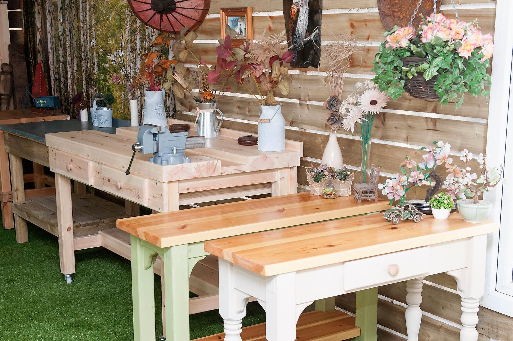 Wooden Workbench Driffield