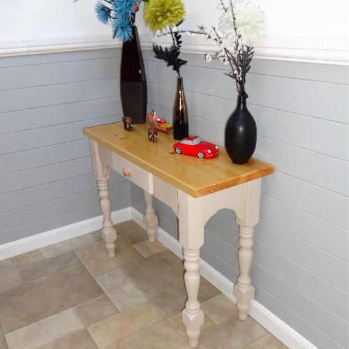 Bespoke Wooden Console Table