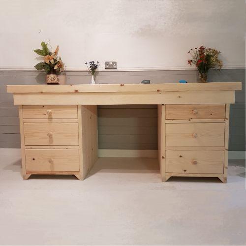 Custom Wooden Desk