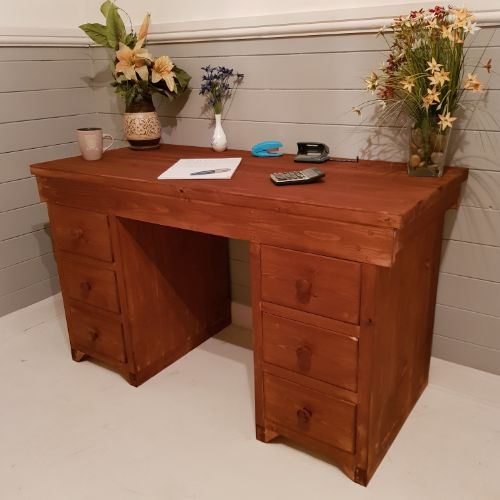 Custom Wooden Desk