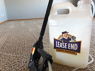 Lease End carpet cleaning solution