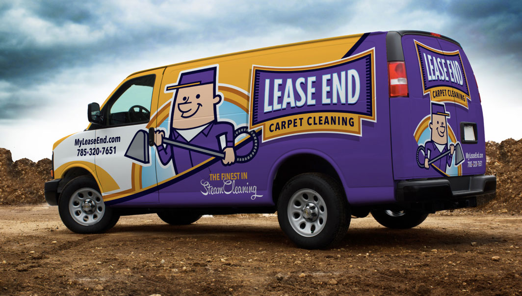 Lease End Carpet Cleaning Van