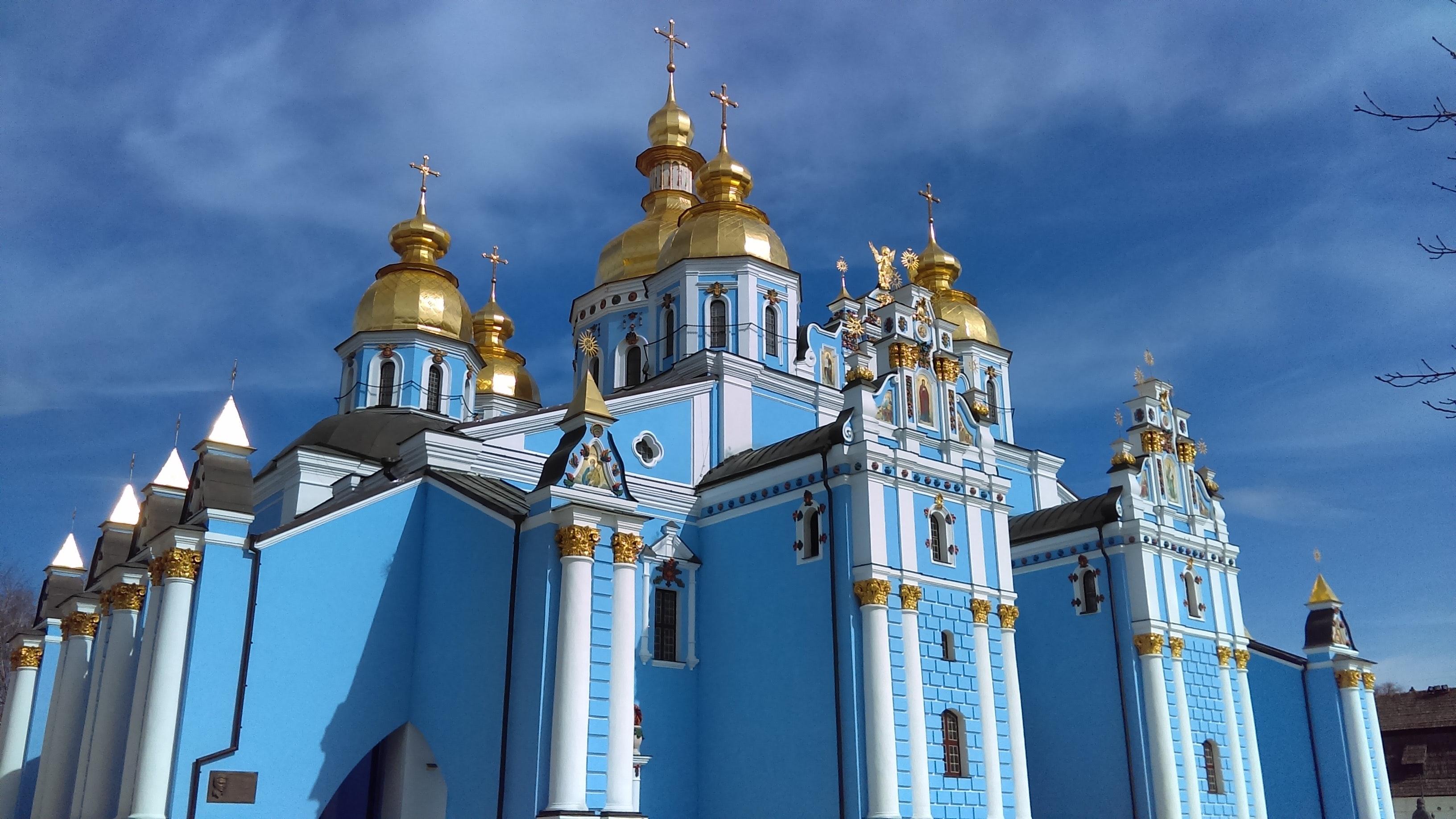 Фотография памятника Хмельницкому в Киеве