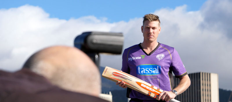 james faulkner having his photo taken