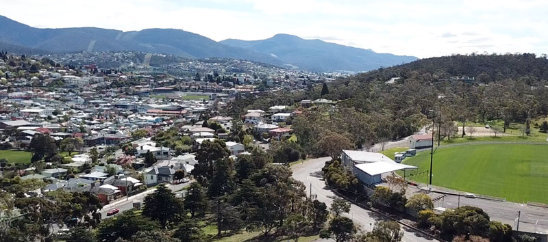 overlooking domain athletics centre